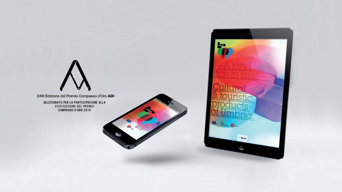 """Nomination per il premio ADI Design Index 2013 per """"Umbria App"""""""