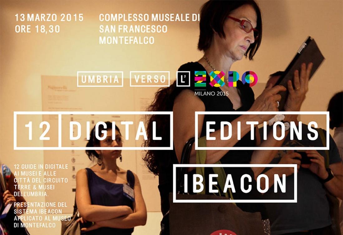 12 guide digitali e sistema iBeacon per scoprire i musei dell'Umbria sui tuoi dispositivi mobile