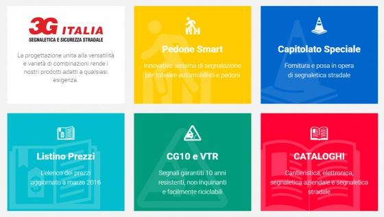 Presentazione prodotti di 3G Segnaletica Italia