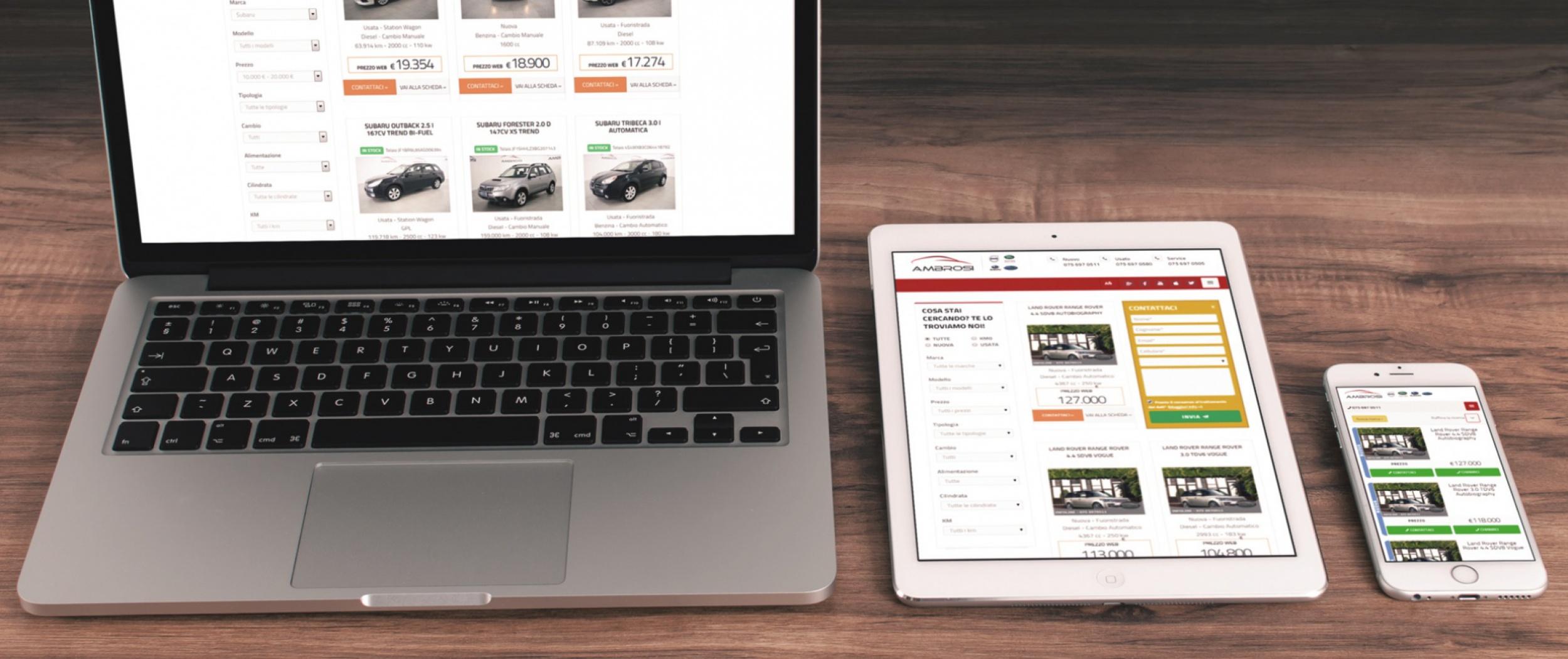 Siti web App Concessionarie Auto | Dealer Managers