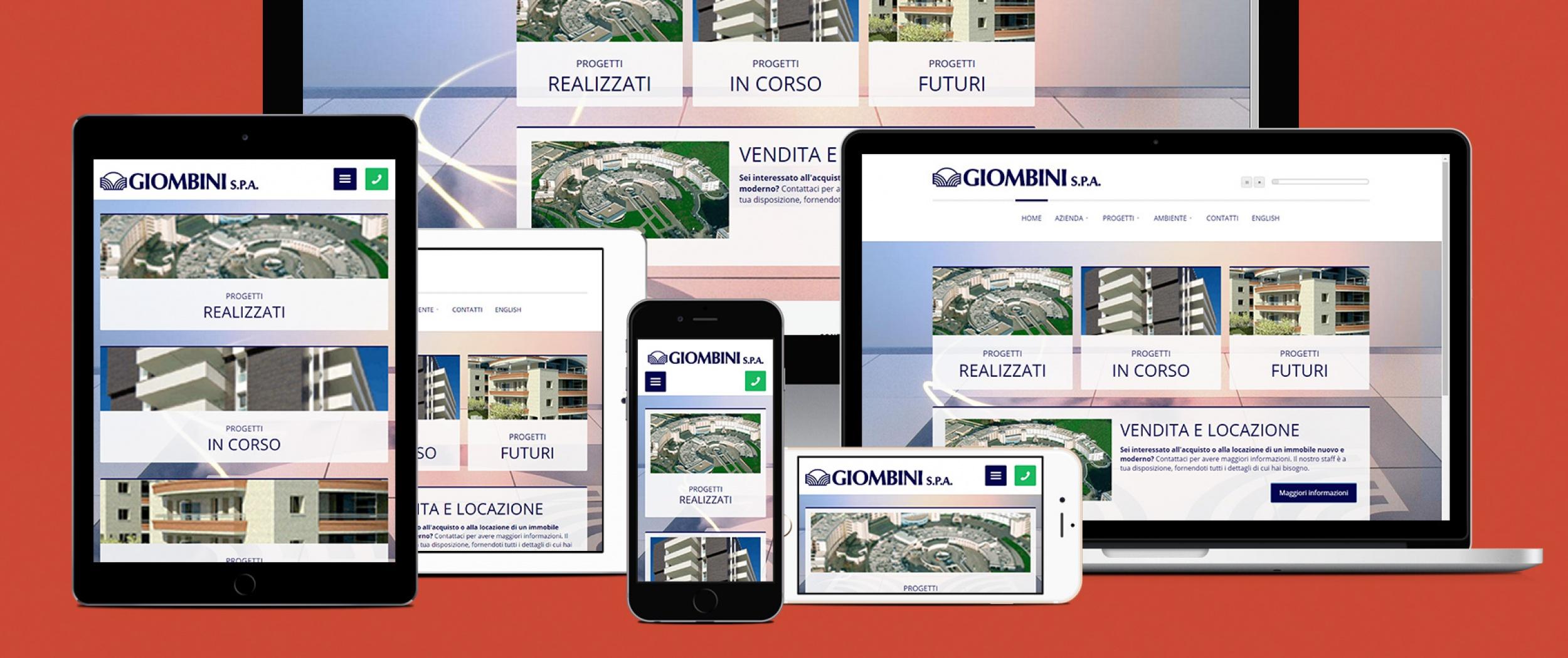Sito per aziende di costruzione ed edilizia