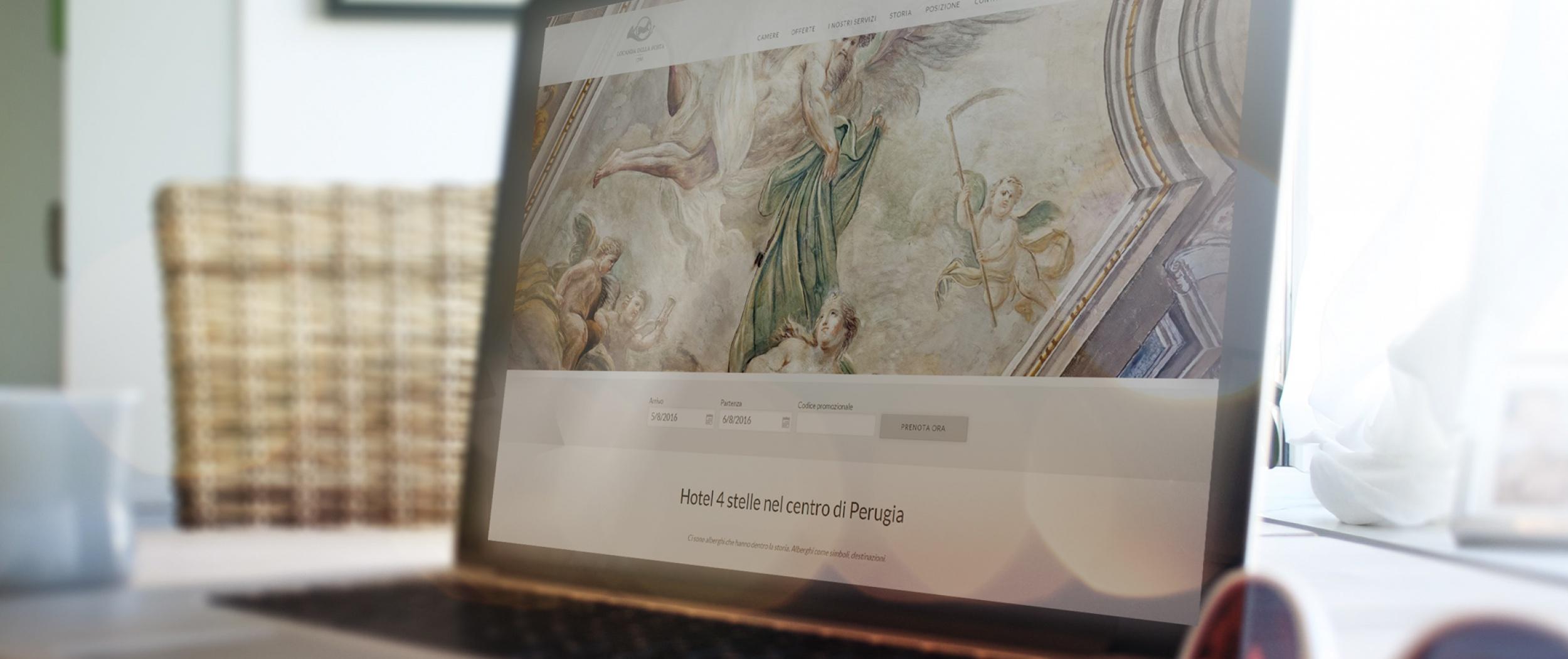 Perugia Siti web per Hotel | Sesinet