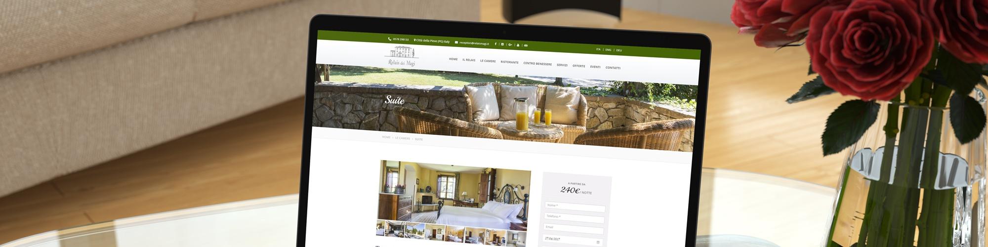 Realizzazione siti web per hotel e strutture alberghiere