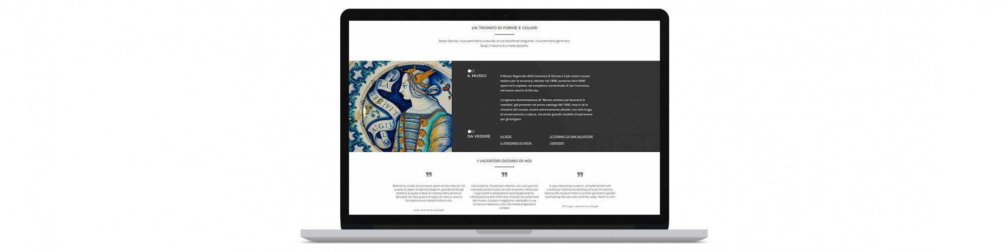 Realizzazione siti web per musei