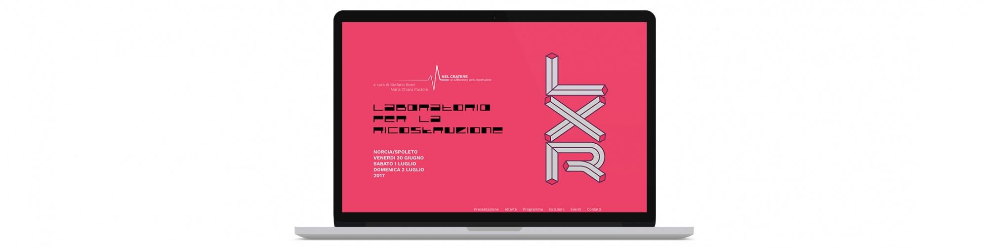 Sesinet Portfolio | Sito web per il laboratorio della ricostruzione di Norcia