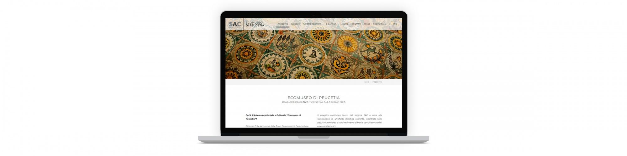 Sesinet Portfolio | Sito web per Ecomuseo di Peucetia