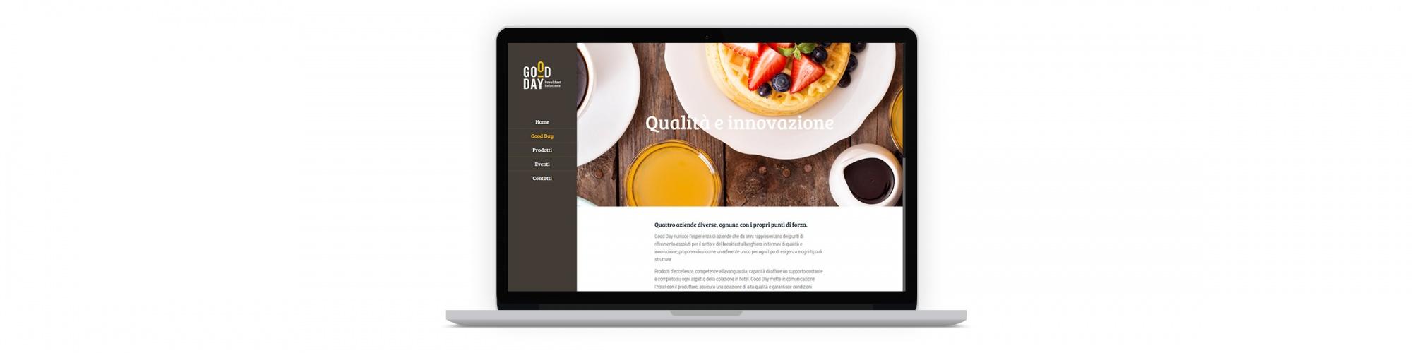Sesinet Portfolio | Sito web per Good Day