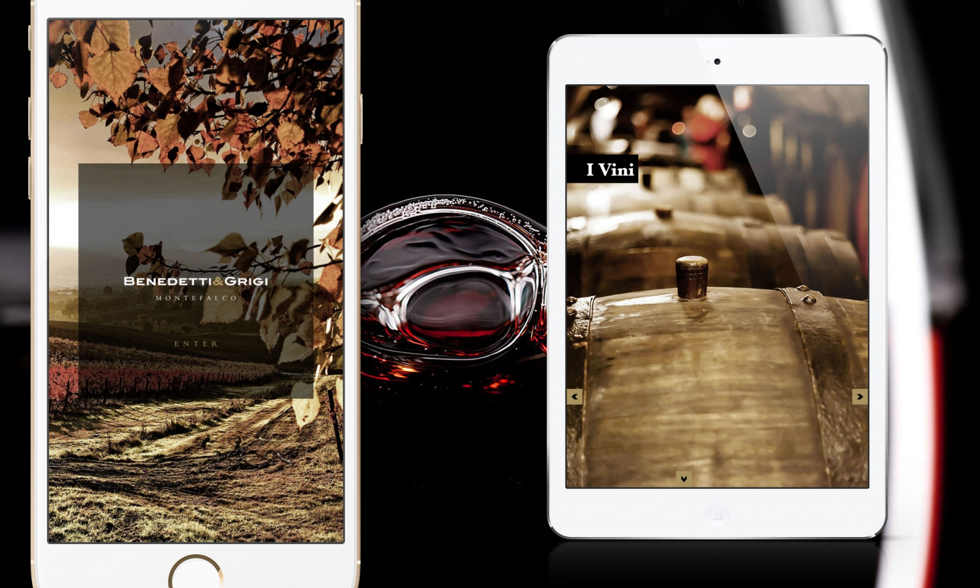 Vini ed Enoteche | App e Digital Editions